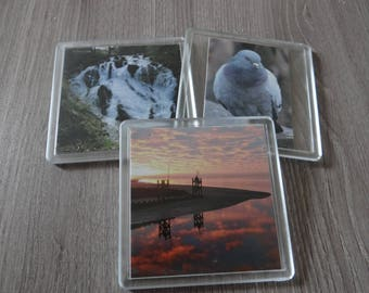 Double sided (Hard Plastic) Coasters