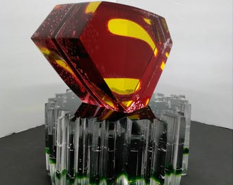 Superman in Emerald Green Kryptonite