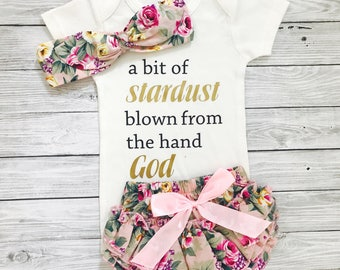 Newborn Girl Clothes, Newborn Girl Outfits, Unique Baby Gift, Religious Baby Gift, Christian Baby Gift, Christian Baby Clothes