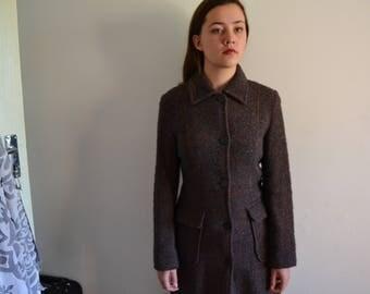 Vintage (ethic) Italian coat. 47% wool