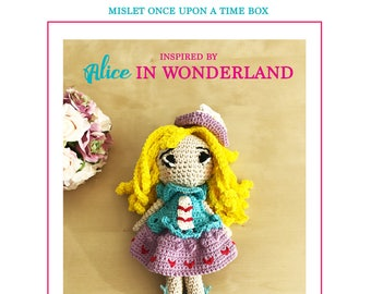 Amigurumi Crochet Pattern, Alice