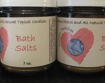 All Natural Bath Salts