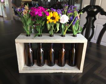 5 Bottle Vase