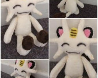 Pokemon Meowth Plush