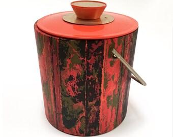 1960s // 1970s Modern Ice Bucket Barware