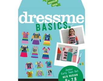 Dressme Basics - Pattern Set - Junior/early teen set - Sizes 6+-14