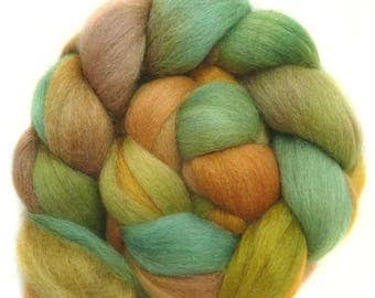 BABY ALPACA SILK CASHMERe roving top handdyed spinning fibre 3.6 oz