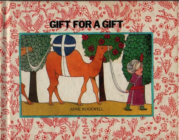 Gift For A Gift - Anne Rockwell - 1974 - Vintage Kids Book