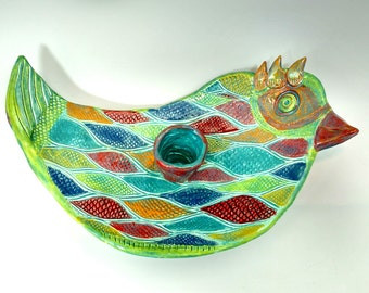 Bird Olive Plate