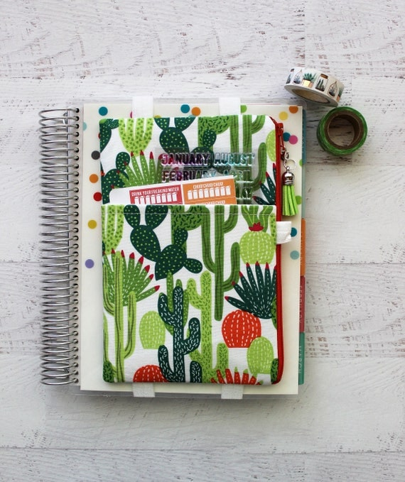 Cactus Planner Pouch