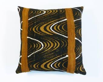 Bohemian Pillow ~ Mudcloth Pillow ~ Mud Cloth Pillow (MUD14)