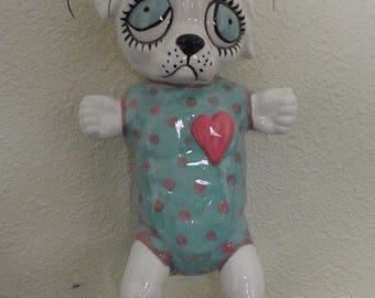 Puppy Doll wall pocket