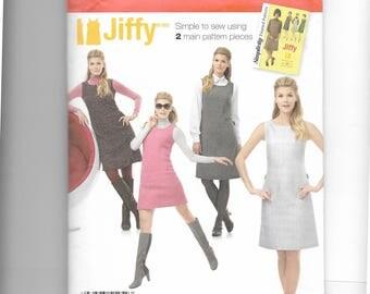 Simplicity Misses' /Miss Petite dress or Jumper Pattern 1252