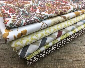 Fat Quarter Bundle-Autumn-Reclaimed Bed Linens