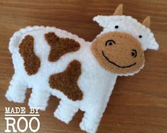 Barnyard Babies Magnets - Cow