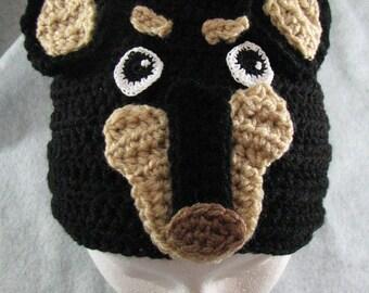 Miniature Pinscher Dog Hat Ready To Ship