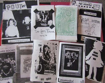 Riot Grrrl Nostalgia zine grab bag THREE