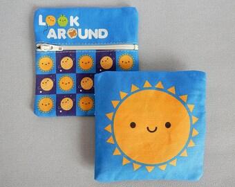 Kawaii Coin Purse - Happy Sun