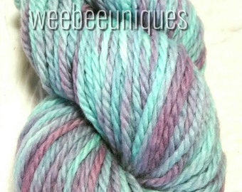 "bulky yarn hand dyed variegated yarn ""Fairhaven"""