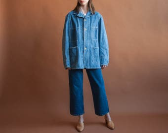 OSH KOSH denim field jacket / oversized jacket / vintage jean jacket / 2167o / B20
