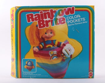 Rainbow Brite, Color Pocket, Bed, Box, In Package ~ The Pink Room ~ 161226