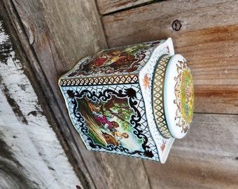 CUSTOM Scented Soy Wax English Tea Tin Candle (24 oz. approx.)