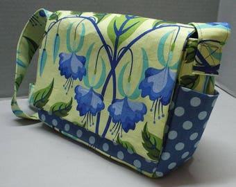 Shoulder Carry or Crossbody Purse or Handbag Sweet Lady Jane Fabric