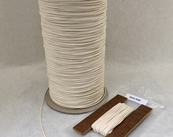 Candle Wick, Wicking - 30ft/10yds - #540 by the foot / yard  Beeswax, Natural Wax