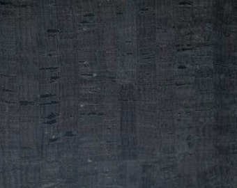 Eversewn CORK FABRIC - Black with Dark Flecks - Size Options