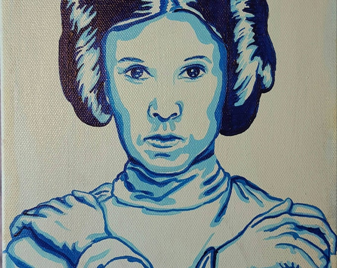 Leia - Original painting by Mr Hooper of Nashville Tennessee