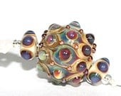 Lampwork  Art Beads by Jeanniesbeads #1810