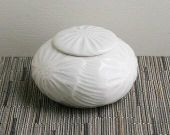 Memorial Urn - Cremation Urn - Covered Jar