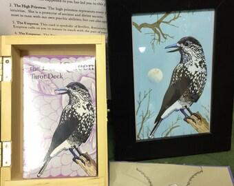 Queen of Keys BirdQueen Tarot Gift Set- SPECIAL