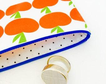 NEW Scandi apple  purse / make up bag by Jane Foster  - Original Jane Foster apple design