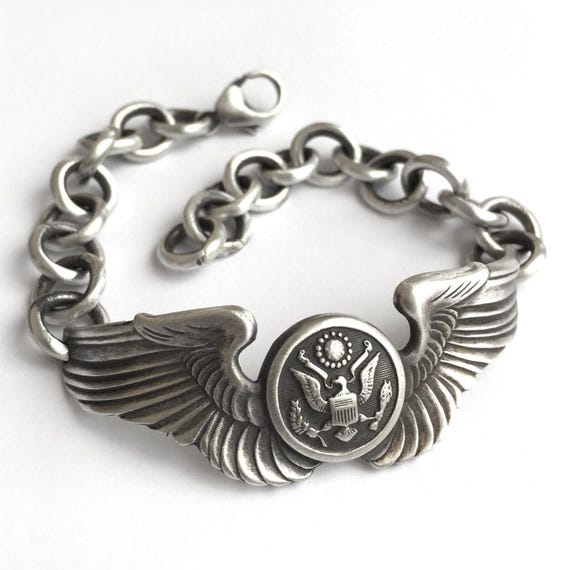 Vintage World War II Air Force Bracelet