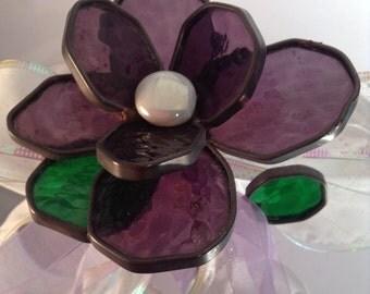 Purple Long Stem Rose Bouquet - Valentine's Day, Anniversary, Birthday, Wedding, Table Arrangement, I Love You, Sympathy