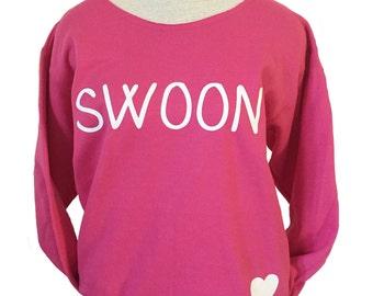 SWOON Sangria Pink Sweatshirt