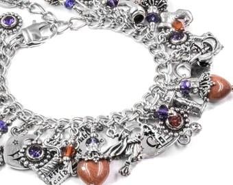 Halloween - Witch Jewelry - Goldstone Jewelry - Witch Bracelet