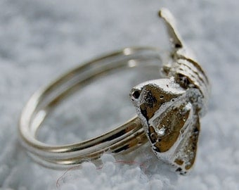 sterling bow ring size 7