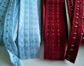 SALE Choose Color 1 Meter Closure Tape for BUSTIER or CORSET by Merckwaerdigh