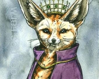 Fennec Fox Queen