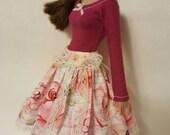 "SALE** ROSES in BLOOM set for Agatha Primrose 13"" Tonner fashion body"