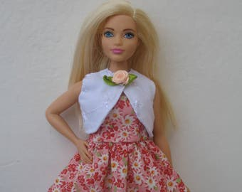 Clothes for Curvy Barbie Fashionista Doll Dress and Jacket