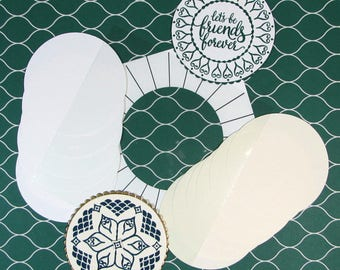 Medallion and Wreath making Template for Stamp Positioning Tool