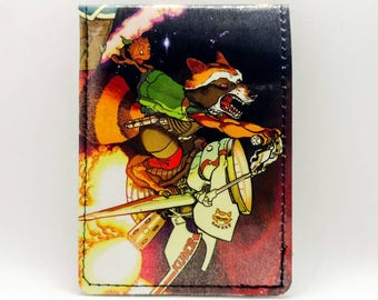 Baby Groot Wallet - Guardians of the Galaxy Wallet - Sewn Comic Book Wallet - Baby Groot, Rocket Racoon, Gamora, Drax, Starlord