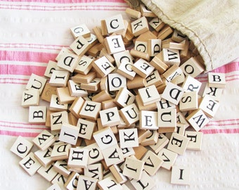 Spell It Out...Fantastic Old Paper Alphabet Letters