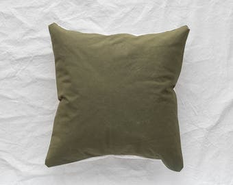 Army Canvas Pillow