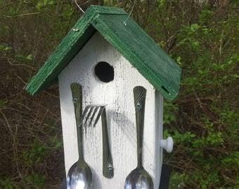 Birdhouse White Spoons Fork Utensil Restaurant Caterer Chef Fully Functional