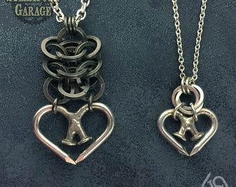 Unbreakable Hearts - His and Hers - SPG collaboration Featuring Nailmaille ®