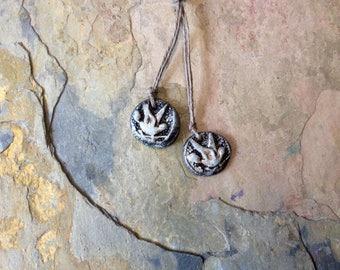Bird Set, Artisan Ceramic Beads, Foxpaws